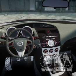 Mazda Speed 3 [Beta] für GTA 4 obere Ansicht