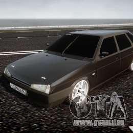 Lada VAZ 2109 pour GTA 4 Vue arrière
