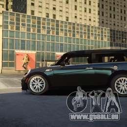 Mini Cooper Clubman für GTA 4 linke Ansicht