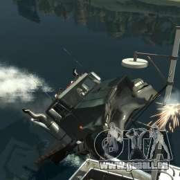 Biff boat für GTA 4 obere Ansicht