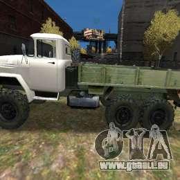 ZIL 131 pour GTA 4 est une gauche