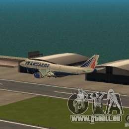Boeing 747-400 für GTA San Andreas Seitenansicht