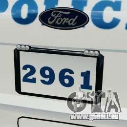 Ford Explorer NYPD ESU 2013 [ELS] pour GTA 4 Salon