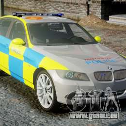 BMW 350i Indonesian Police Car [ELS] pour GTA 4