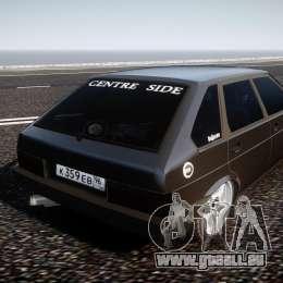 VAZ Lada 2109 für GTA 4 hinten links Ansicht