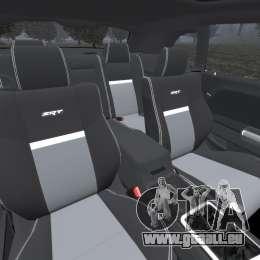 Dodge Challenger SRT8 2009 [EPM] für GTA 4 Innenansicht