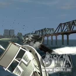 Biff boat für GTA 4 hinten links Ansicht