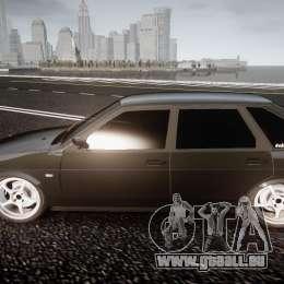 VAZ Lada 2109 für GTA 4 Innenansicht
