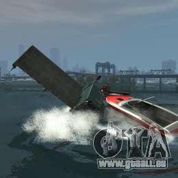 Biff boat für GTA 4 Seitenansicht