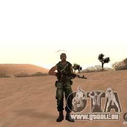 Russische Commando für GTA San Andreas zweiten Screenshot