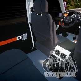 Range Rover Supercharged 2009 v2.0 pour GTA 4 est une vue de dessous