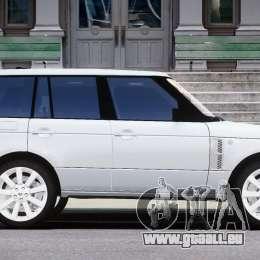 Range Rover Supercharged 2009 v2.0 für GTA 4 Innenansicht