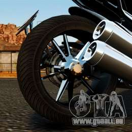 Ducati Diavel Carbon 2011 für GTA 4 Innenansicht