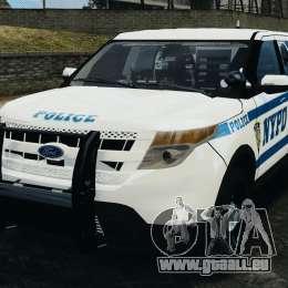 Ford Explorer NYPD ESU 2013 [ELS] für GTA 4