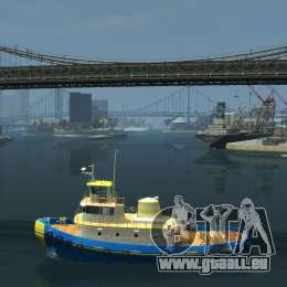 New Tug Texture v.2 für GTA 4 linke Ansicht