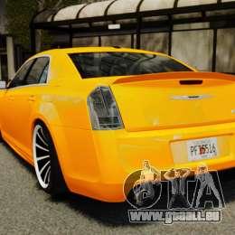 Chrysler 300 SRT8 LX 2012 für GTA 4 hinten links Ansicht