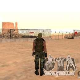 Commando russe pour GTA San Andreas quatrième écran