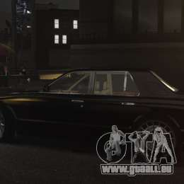 Bentley Arnage T v 2.0 für GTA 4 Rückansicht