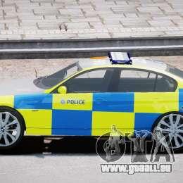 BMW 350i Indonesian Police Car [ELS] für GTA 4 Innenansicht
