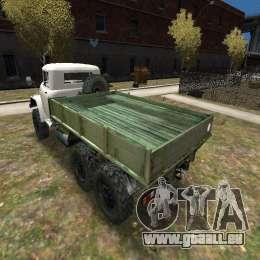ZIL 131 pour GTA 4 Vue arrière de la gauche