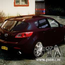 Mazda Speed 3 [Beta] für GTA 4 Seitenansicht