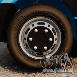 Mercedes-Benz Sprinter 3500 Car Transporter für GTA 4 Seitenansicht