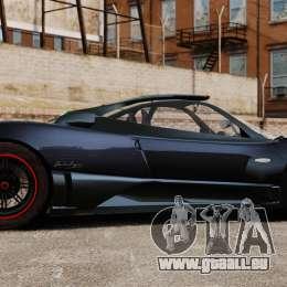 Pagani Zonda Cinque 2009 pour GTA 4 est une gauche