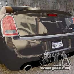Chrysler 300 SRT8 2012 für GTA 4 rechte Ansicht