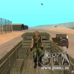 Russische Commando für GTA San Andreas fünften Screenshot