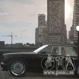 Bentley Arnage T v 2.0 für GTA 4 Seitenansicht