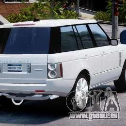 Range Rover Supercharged 2009 v2.0 pour GTA 4 est un côté