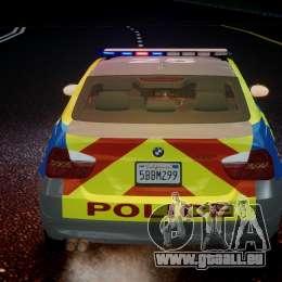 BMW 350i Indonesian Police Car [ELS] für GTA 4-Motor