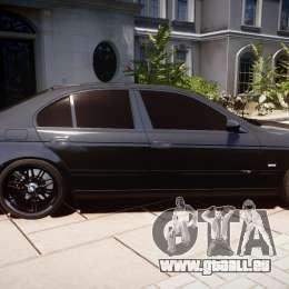 BMW M5 E39 Stock 2003 v3.0 für GTA 4 Innenansicht