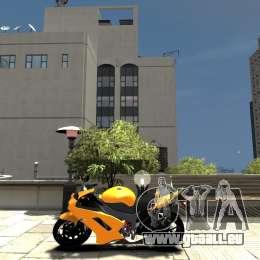 Kawasaki Ninja ZX6R 2008 Beta pour GTA 4 est une gauche