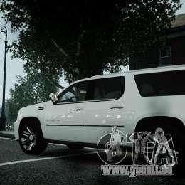 Cadillac Escalade ESV für GTA 4 rechte Ansicht