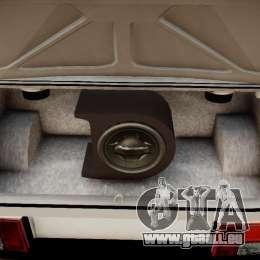 VAZ 21099 léger Tuning pour GTA 4 est une vue de l'intérieur