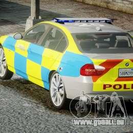 BMW 350i Indonesian Police Car [ELS] pour GTA 4 est un côté