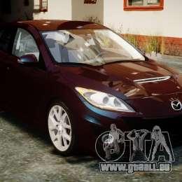 Mazda Speed 3 [Beta] pour GTA 4 Vue arrière