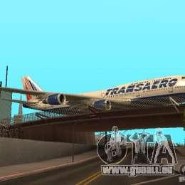 Boeing 747-400 für GTA San Andreas rechten Ansicht