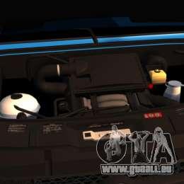 Mercedes-Benz Sprinter 3500 Car Transporter für GTA 4 Rückansicht