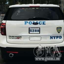 Ford Explorer NYPD ESU 2013 [ELS] pour GTA 4 est une vue de dessous