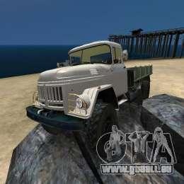 ZIL 131 pour GTA 4 est une vue de dessous