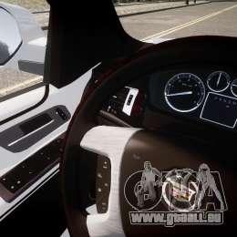 Cadillac Escalade ESV für GTA 4 Innenansicht