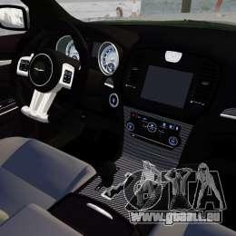 Chrysler 300 SRT8 2012 für GTA 4 Seitenansicht