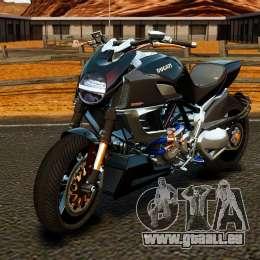 Ducati Diavel Carbon 2011 für GTA 4