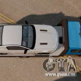 Mercedes-Benz Sprinter 3500 Car Transporter für GTA 4 rechte Ansicht