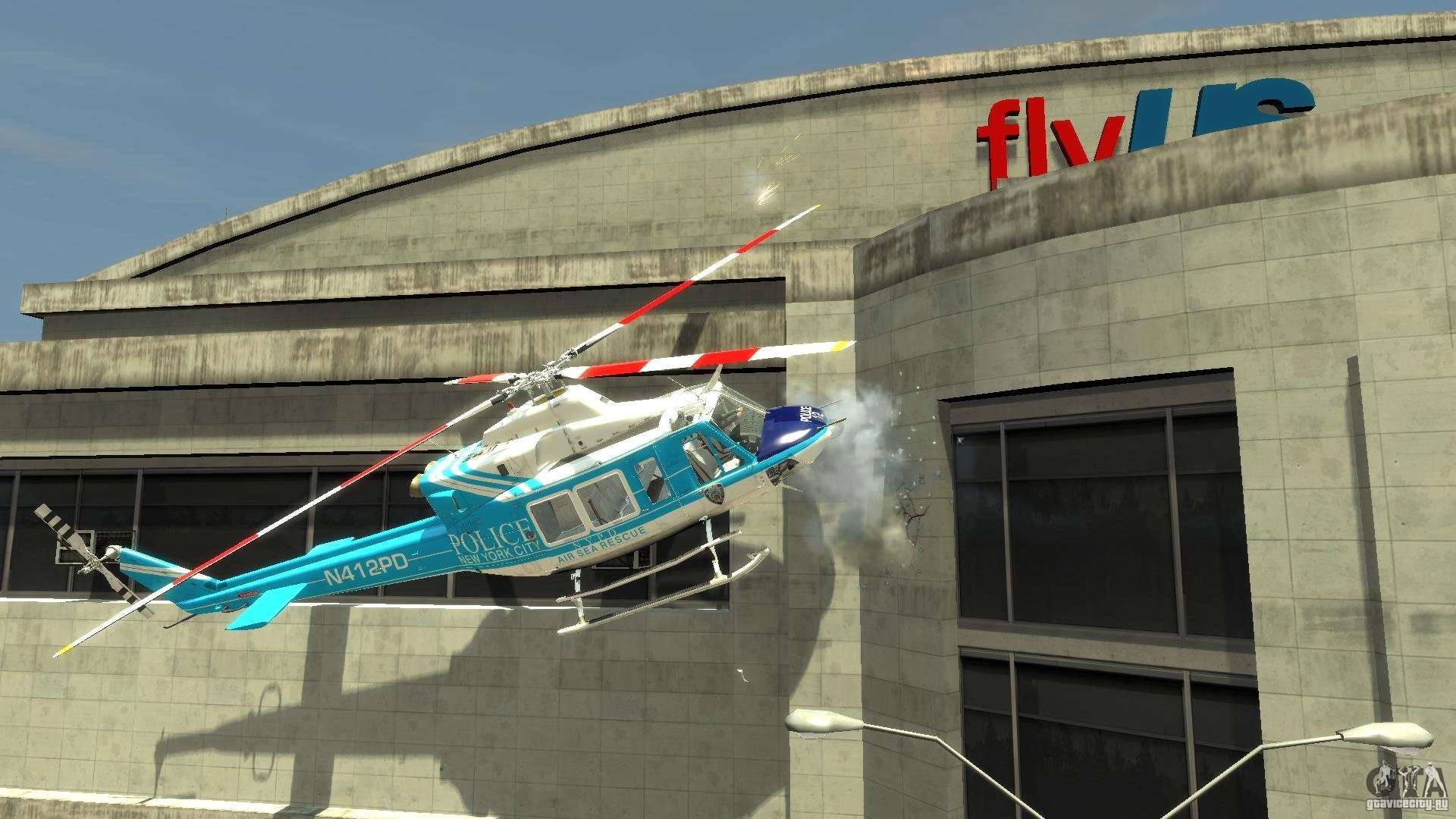 nypd bell 412 ep pour gta 4
