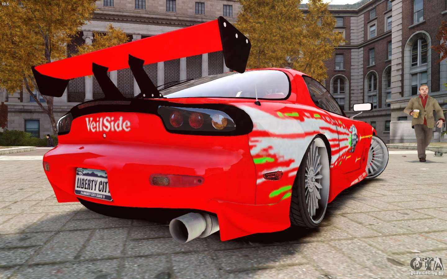Mazda Rx 7 Fast And Furious Pour Gta 4