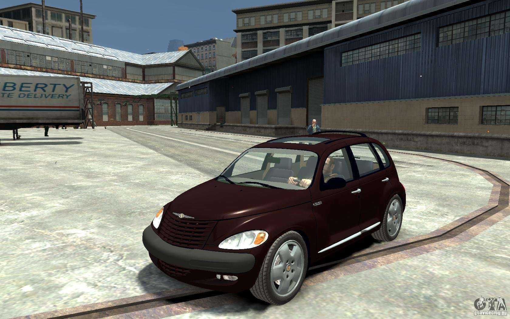 chrysler pt cruiser pour gta 4. Black Bedroom Furniture Sets. Home Design Ideas