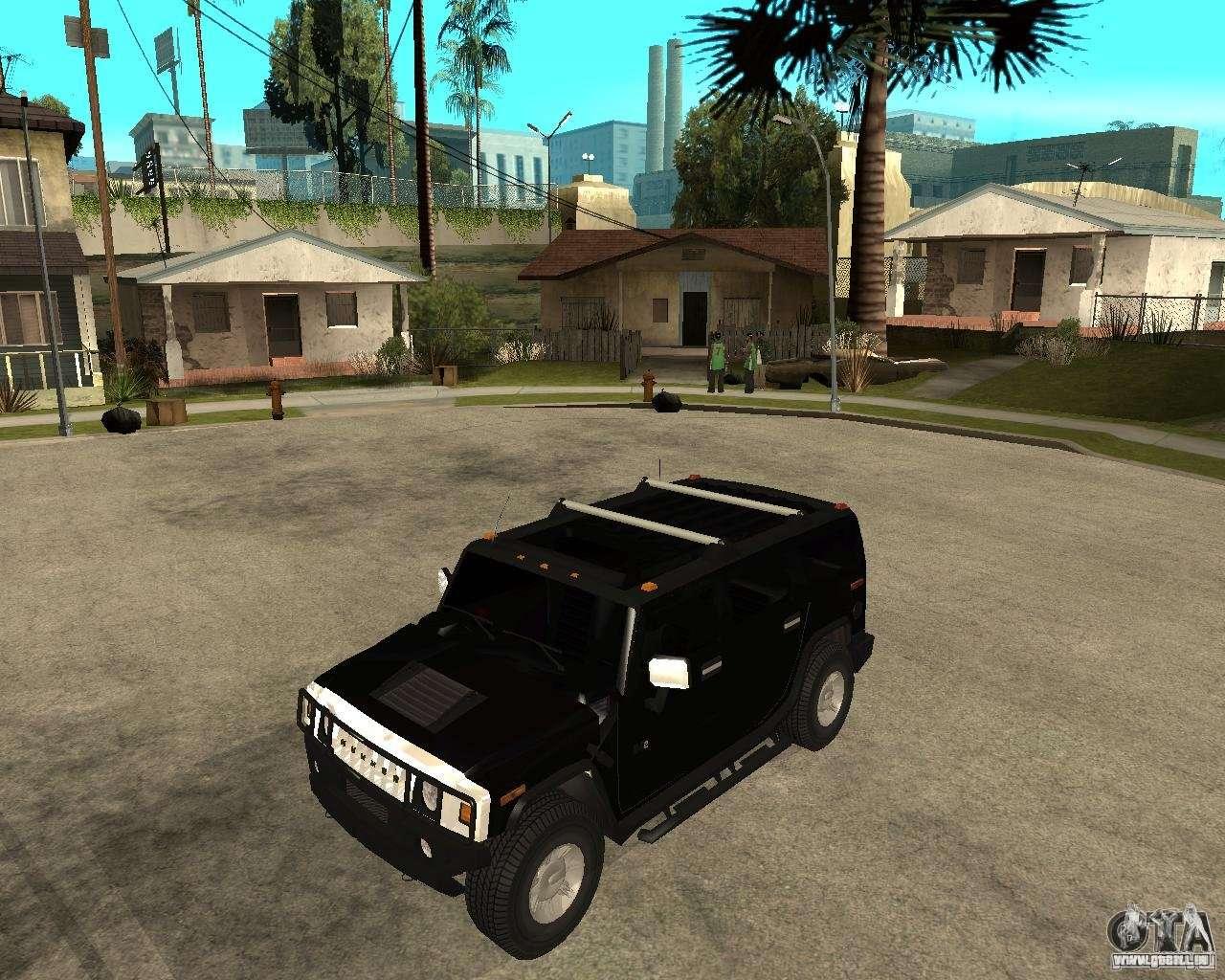 AMG H12 HUMMER SUV FBI für GTA San Andreas | amg hummer